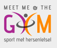 Meet me at the gym logo